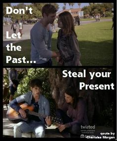don,t let the past steal your present