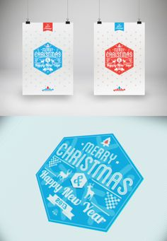 collecte-d:    (via Typography Christmas Card 2013 on Behance)