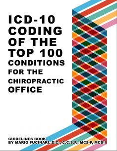 ICD-10 Coding of the Top 100 Conditions for the Chiropractic Office