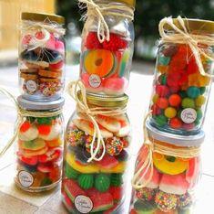 Pin Cushions, Diy Gifts, Mason Jars, Blog, Design, Jelly Beans, Bottles, Birthday Surprises, Creative Gifts