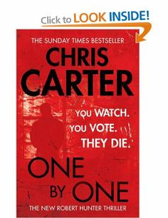 One by One: Amazon.co.uk: Chris Carter: Books