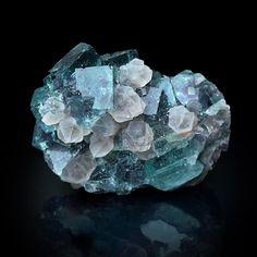 Fluorite and Quartz Locality: Okoruso Mine,. - A love for minerals