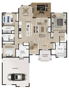 Beaver Homes and Cottages – Montrose Beaver Homes and Cottages – Montrose Image Size: 773 x 1000 Source Sims House Plans, House Layout Plans, New House Plans, Dream House Plans, Small House Plans, House Layouts, House Floor Plans, Beaver Homes And Cottages, Cottage Plan