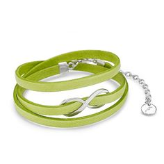 Be bold and be fashionable with the Neon Green Infinity Leather Bracelet! This neon Green leather bracelet sports a trendy infinity symbol. Leather Cuffs, Leather Jewelry, Beaded Jewelry, Bracelet Making, Jewelry Making, Jewelry Gifts, Jewelry Bracelets, Infinity Jewelry, Bracelet Cuir