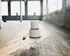 { Dallas Shaw picks: cupid's arrow topper for cake. via icing101 etsy }