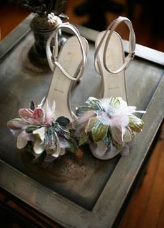 her wedding shoes would be a little different {photo via GWS}