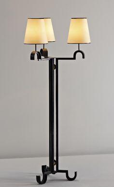"JEAN ROYÈRE, ""Fondperdu"" floor lamp, c. 1948"