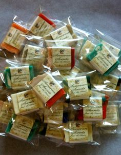 Bulk Guest Soap Bars for Baby/Bridal/Wedding by SonoranScents