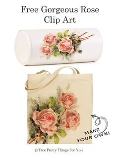 Royalty Free Images: Romantic Rose Clip Art! - Free Pretty Things For You