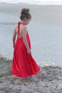 Windswept Maxi dress pattern PDF pattern child sizing 3