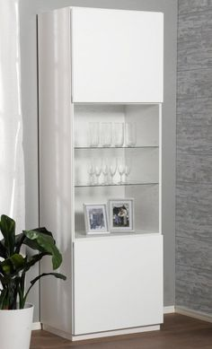 PULS-vitriini, valkoinen - Vitriinit | Sotka.fi