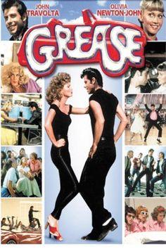 Grease *Musical/Romance by Randal Kleiser -- starring John Travolta & Olivia Newton-John See Movie, Movie List, Movie Tv, Movie Photo, Film Musical, Film Music Books, Musical Theatre, Grease Movie, Grease 1978