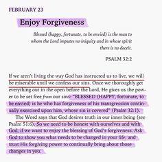 Enjoy Forgiveness