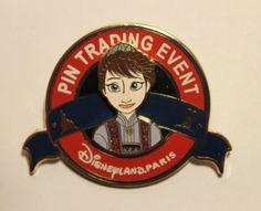 Disney DLP Paris Pin Trading Event Frozen Let It Snow Le Night | eBay