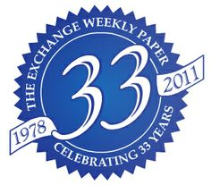 The Exchange 33rd Anniversary Seal by Cale Clute, via Behance