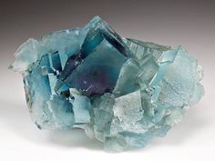 Fluorite | #Geology #GeologyPage #Mineral Locality:Minerva No. 1 Mine, Hardin Co., Illinois, USA Size: 13.5 x 9.5 x 5.0 cm (cabinet) Photo Copyright © Weinrich Minerals Geology Page www.geologypage.com