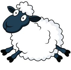 Cartoon Counting Sheep | Displaying 19> Images For - Sheep Cartoon...