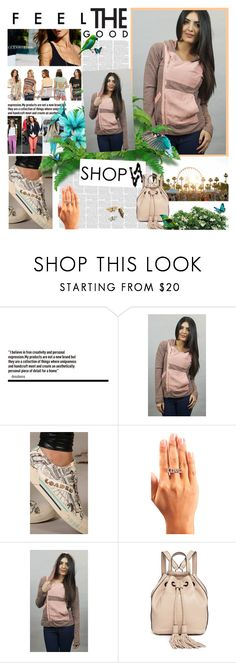 """""""ShopAA  30"""" by followme734 ❤ liked on Polyvore featuring Gypsy05, Beach Bunny, Christian Audigier, Rebecca Minkoff, polyvorecommunity and polyvorefashion"""