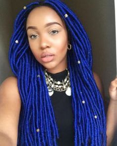 31 Faux Loc Styles for African-American Women 31 Faux Loc Styles for African-American Women There's a lot to be said for faux locs – they give you the opportunity to play around with so many more styles without needing to put in all that ti Crochet Braids, Crochet Hair Styles, New Natural Hairstyles, Faux Locs Hairstyles, Side Hairstyles, Hairstyles 2018, African American Hairstyles, African American Women, Faux Locs Styles