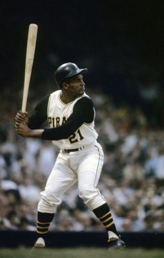Outfielder Roberto Clemente Pittsburgh Pirates stands at the plate ready to hit during a MLB baseball game circa early at Forbes Field in Pittsburgh, Pennsylvania. Clemente played for the. Get premium, high resolution news photos at Getty Images Play Baseball Games, Pirates Baseball, Baseball Star, Baseball Cards, Baseball Tickets, Baseball Quotes, Baseball Gifts, Baseball Field, Roberto Clemente