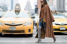 One of The Best Street Styles From New York Fashion Week, February 2015  - ELLE.com (=)