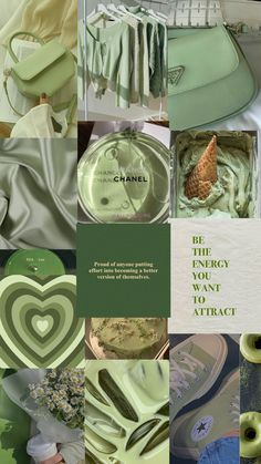 Sage iPhone wallpaper collage