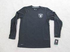 #Oakland CA Merchandise / Nike AUTHENTIC NFL Oakland #Raiders Logo #DriFit L/S #Tshirt Men XXL NEW NICE! - Geebo