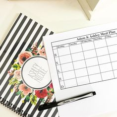 How I plan for meal prep plus FREE printables!!!