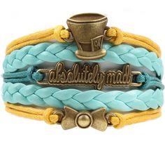 Love Alice in Wonderland? We made 100 limited edition Wonder bracelets at 60% OFF using the code: WONDER