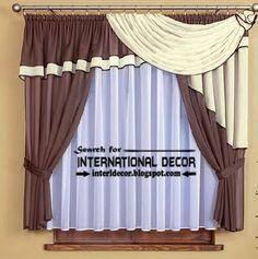 O maior catálogo de desenhos cortinas de cozinha, ideias 2015