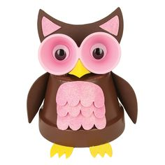 Nicole™ Crafts Clay Pot Owl   #claypot #craft