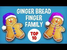 The Finger Family Gingerbread Family Nursery Rhyme   Christmas Finger Family Songs