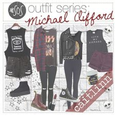 5sos outfit series: Michael Clifford
