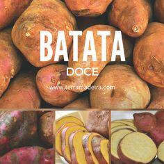 Quem adora batata doce? Os benefícios são: Reduz o colesterol total Reduz cãibras Faz bem a pele Rico em vitamina A Auxilia na formação de colágeno Previne anemia http://www.terramadeira.com/pt/produtos/hortifruticolas/40-batata-doce.html #terramadeira