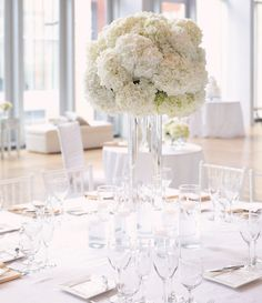 Lush fresh flowers provides the perfect setting for an enchanted, romantic wedding. Check out these 33 super chic and elegant wedding centerpieces and tell us which one do you love the most? Romantic Wedding Centerpieces, Wedding Reception Decorations, Flower Centerpieces, Wedding Ideas, Wedding Venues, Centrepieces, Centerpiece Ideas, Wedding Details, Mod Wedding