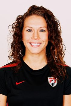 Lauren Cheney, women's Olympic soccer team. CHD patient.  What a great role model for fellow CHD kids. Plus she went to UCLA. Extra bonus!