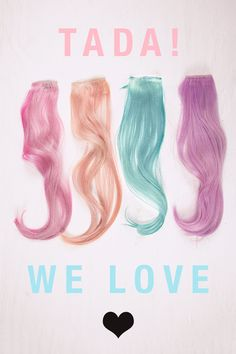 pastel, pink, peach, mint teal and lavander pastel crazy colours on hair extensions... pastel hair extensions are still around and we think pastel hair is here to stay for another season.