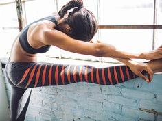 Women's Gradient Stripe Hustle Performance Tights. Need.