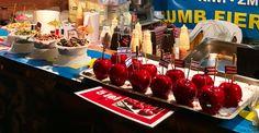 Christmas fair in Parcul Teatrul Oleg Danovski Constanța, Romania December 2019 Romania, Cherry, December, Fruit, Christmas, Food, Yule, Xmas, Meal