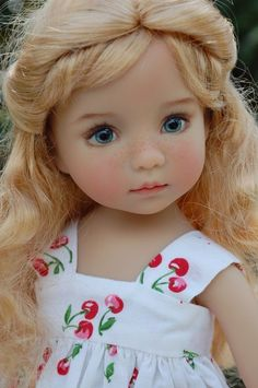 """""""Mallory"""", a OOAK custom 13"""" Little Darling hand painted by Dianna Effner #DiannaEffner. SOLD for $1,225.00 3/1/15"""