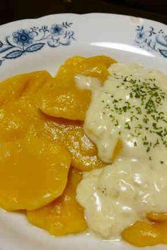 かぼちゃのニョッキ★豆乳ホワイトソースの画像