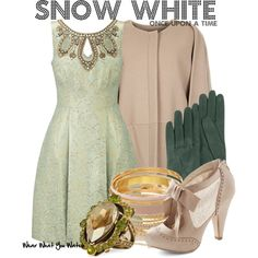 Inspired by Ginnifer Goodwin as Snow White on Once Upon a Time. #television #wearwhatyouwatch #OUAT