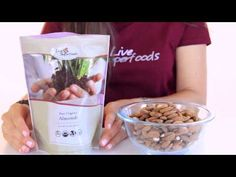 All About Organic Raw Almonds - LiveSuperFoods.com Raw Almonds, Fresh And Clean, Superfoods, Dog Food Recipes, Plant Based, Oatmeal, Paleo, Organic, Meals