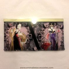 Disney Villain Wallet. by EmmaLeeAccessories on Etsy