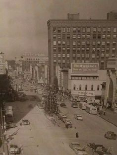 Downtown Canton at Christmas Oh My Home, Canton Ohio, Those Were The Days, Historical Photos, Cleveland, Paris Skyline, Stark County, Modern Homes, History