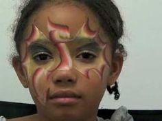 face paint dragon girl - Google zoeken