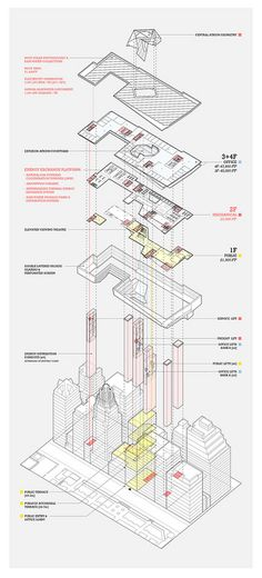 Program Overview Axonometric - James Leng