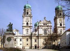 ArtChist: El Barroco en Europa Central | Catedral de Passau ...