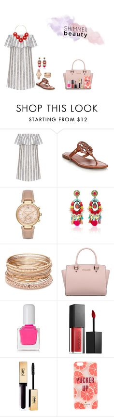 """""""I'm working my Church's VBS this week, with the 1st graders :)"""" by upperclass-prep on Polyvore featuring Sea, New York, Tory Burch, Michael Kors, Ranjana Khan, Red Camel, tenoverten, Smashbox and Kate Spade"""
