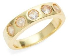 Women's Karen London With The Band Moonstone Ring